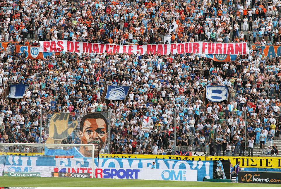 Marseille : French League one championship soccer