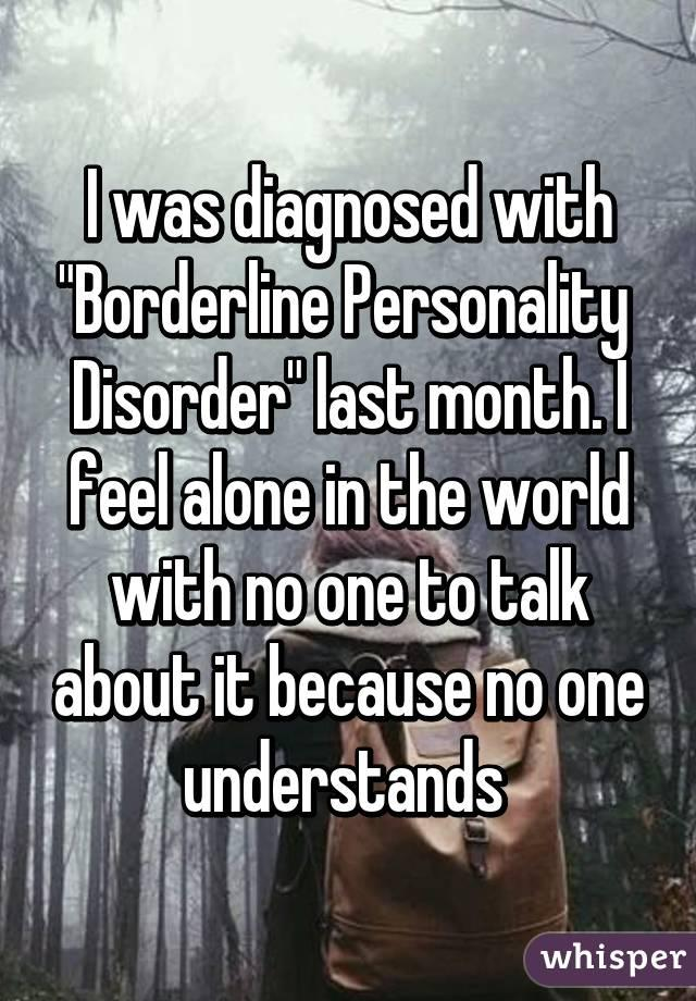 20 people open up about life with borderline personality disorder