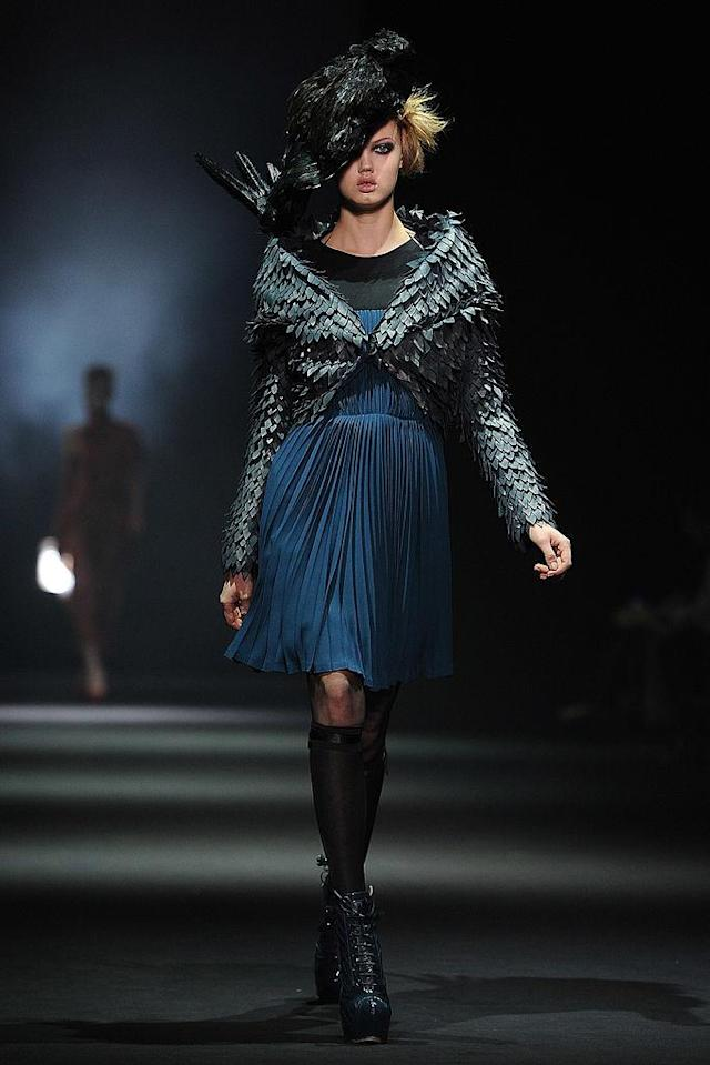 <p>Lindsey Wixson walks the runway during the John Galliano Ready-To-Wear Fall/Winter 2012 show as part of Paris Fashion Week at Espace Ephemere Tuileries in Paris, France. (Photo: Pascal Le Segretain/Getty Images) </p>