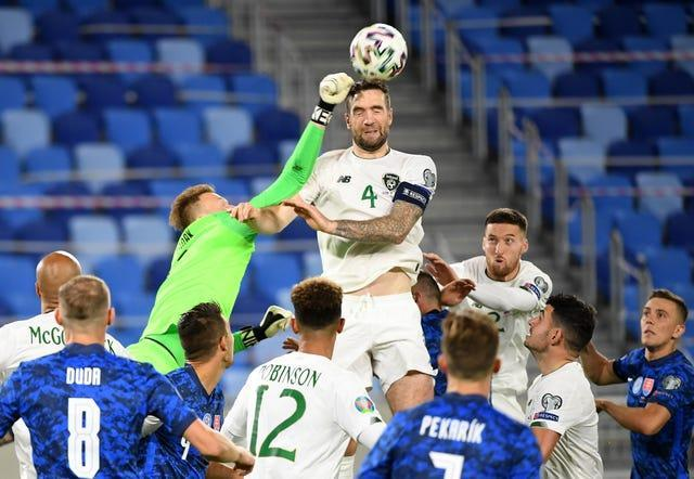 Shane Duffy has been a tower of strength for the Republic of Ireland