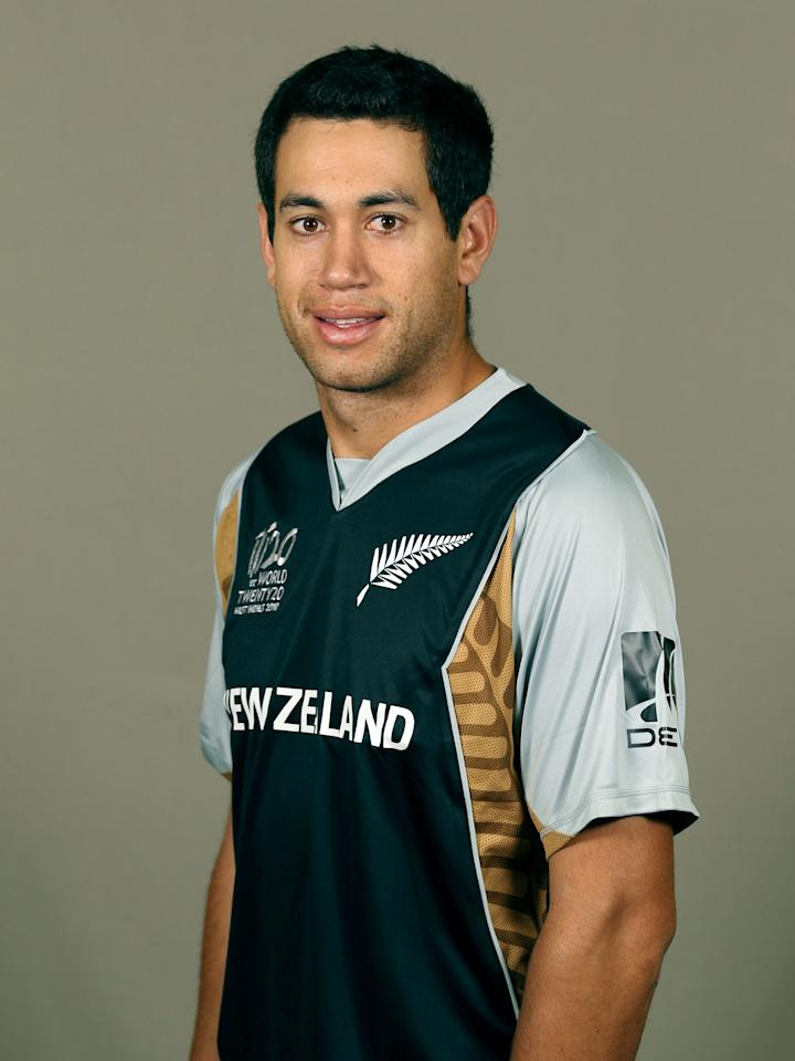GEORGETOWN, GUYANA - APRIL 26:  Ross Taylor of New Zealand poses during a portrait session ahead of the ICC T20 World Cup at the Pegasus Hotel on April 26, 2010 in Georgetown, Guyana.  (Photo by Clive Rose/Getty Images)
