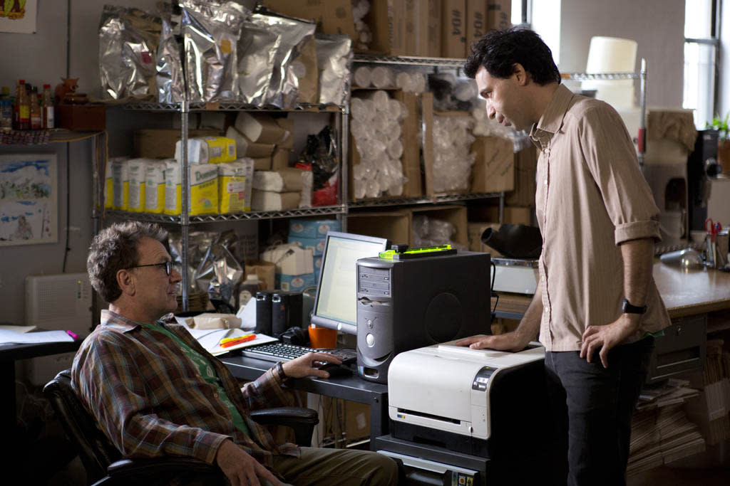 "Colin Quinn and Alex Karpovsky in the ""Girls"" Season 2 episode, ""Together."""