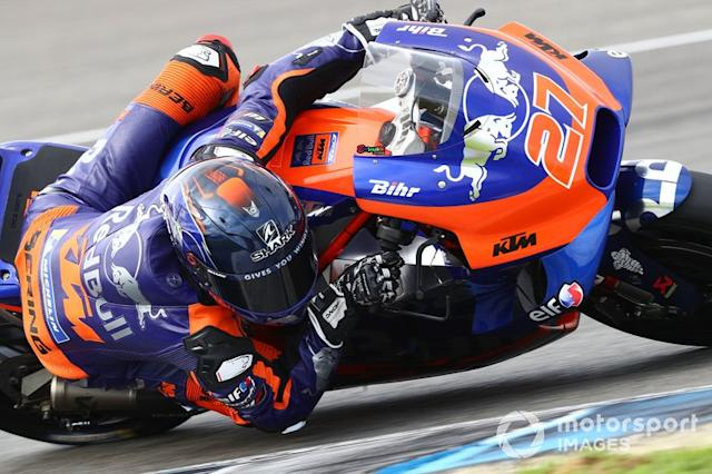 """27 - Iker Lecuona, Red Bull KTM Tech 3 <span class=""""copyright"""">Gold and Goose / Motorsport Images</span>"""