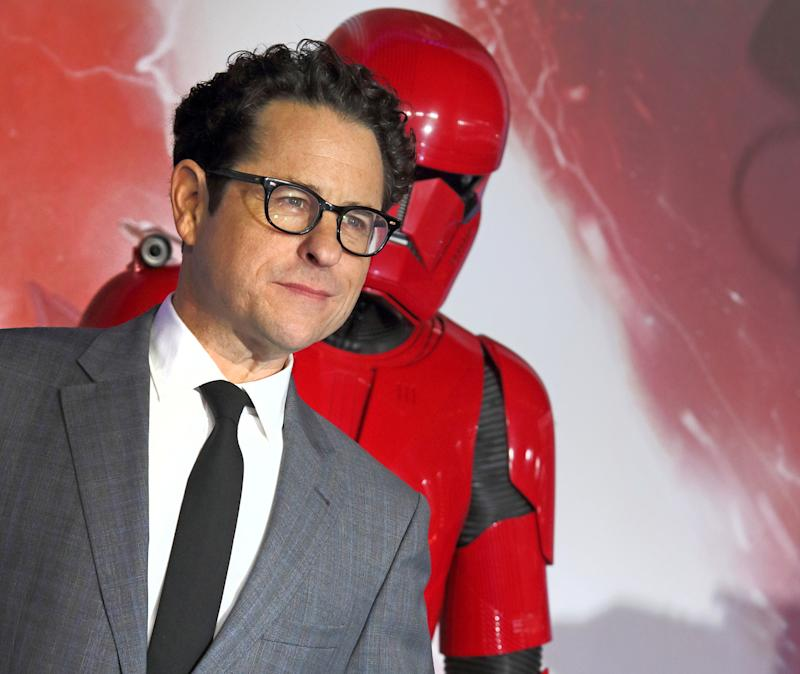 "LONDON, UNITED KINGDOM - DECEMBER 18 2019: JJ Abrams attends the ""Star Wars: The Rise of Skywalker"" European Premiere at Cineworld Leicester Square in London.- PHOTOGRAPH BY Keith Mayhew / Echoes Wire/ Barcroft Media (Photo credit should read Keith Mayhew / Echoes Wire / Barcroft Media via Getty Images)"