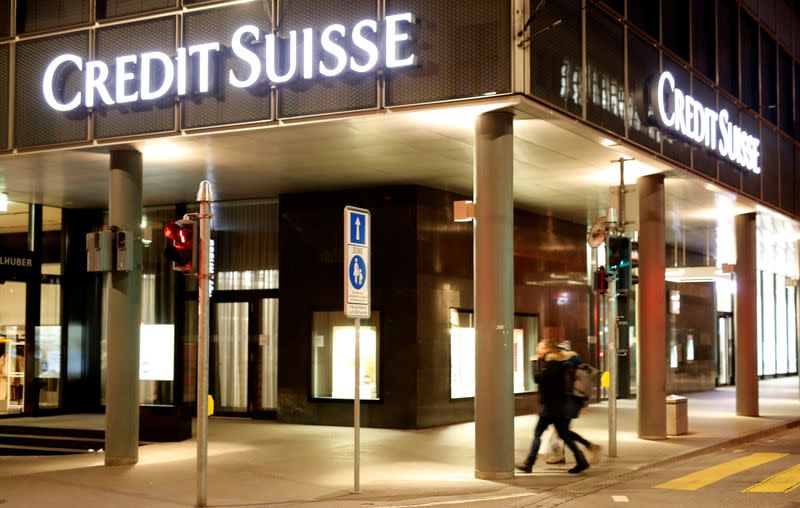 Credit Suisse to merge investment banking units; second-quarter profit beats