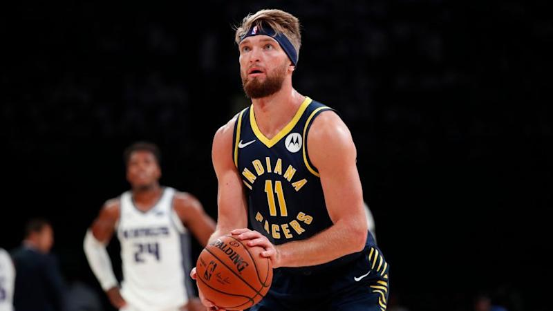 Pacers big man Domantas Sabonis might be on the move