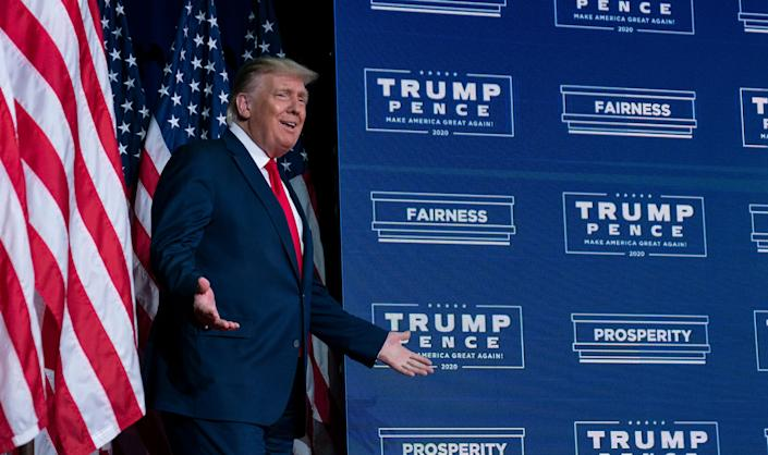 President Donald Trump and the Republican Party are appealing rulings and challenging laws that loosen restrictions on absentee and mail-in voting. (Photo: AP Photo/Evan Vucci)