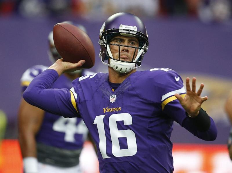 As expected, Vikings pick Cassel as QB this week