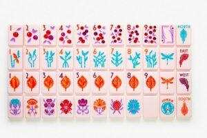 The botanical line paris pink release (Courtesy of The Mahjong Line)