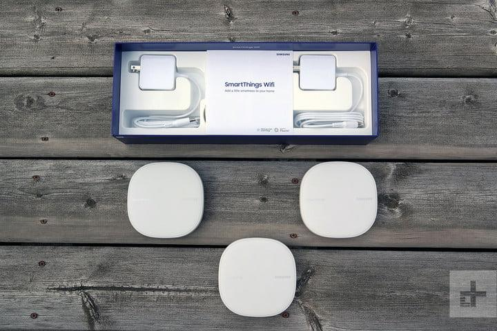 samsung smartthings w-fi box