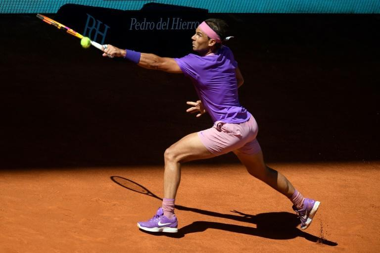 Rafael Nadal is bidding for a sixth title in Madrid