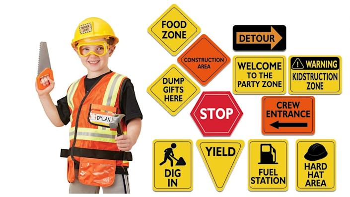 You might already own everything you need to outfit your own construction crew.