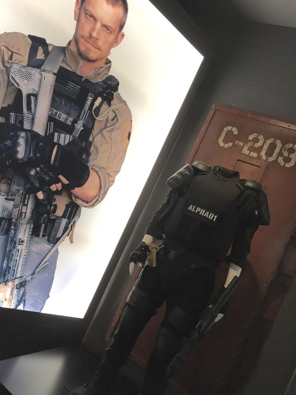 <p>Joel Kinnaman plays the special-forces commander charged with keeping the Squad in line during their field missions. </p>