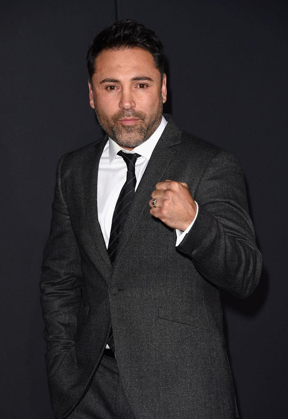 """<p>In September 2018, the legendary boxer said he was serious about running for president in 2020. """"It's real,"""" he told the <em><a href=""""https://www.latimes.com/sports/la-sp-canelo-alvarez-gennady-golovkin-oscar-de-la-hoya-wants-to-run-for-1536706386-htmlstory.html"""" rel=""""nofollow noopener"""" target=""""_blank"""" data-ylk=""""slk:Los Angeles Times"""" class=""""link rapid-noclick-resp"""">Los Angeles Times</a></em>. """"That's the beauty of our nation. If Arnold (Schwarzenegger) can be governor, if Trump can be president, then why can't a Mexican American who won an Olympic gold medal, who's over 35 and a U.S. citizen, run for presidency?"""" Since De La Hoya hasn't made it to any of the debates, it's safe to assume his political aspirations have changed.<br></p>"""