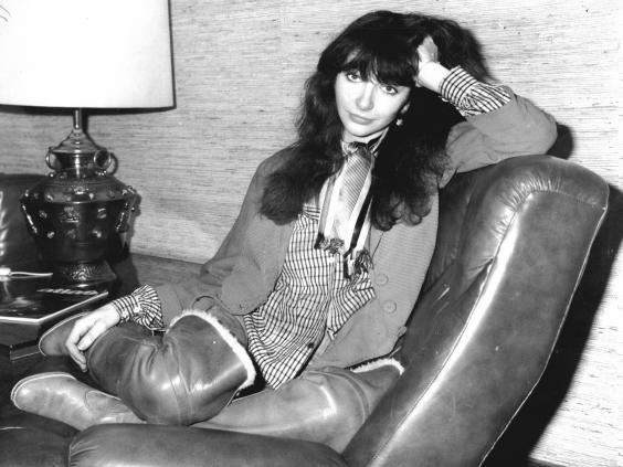Kate Bush in 1978 (Rex)