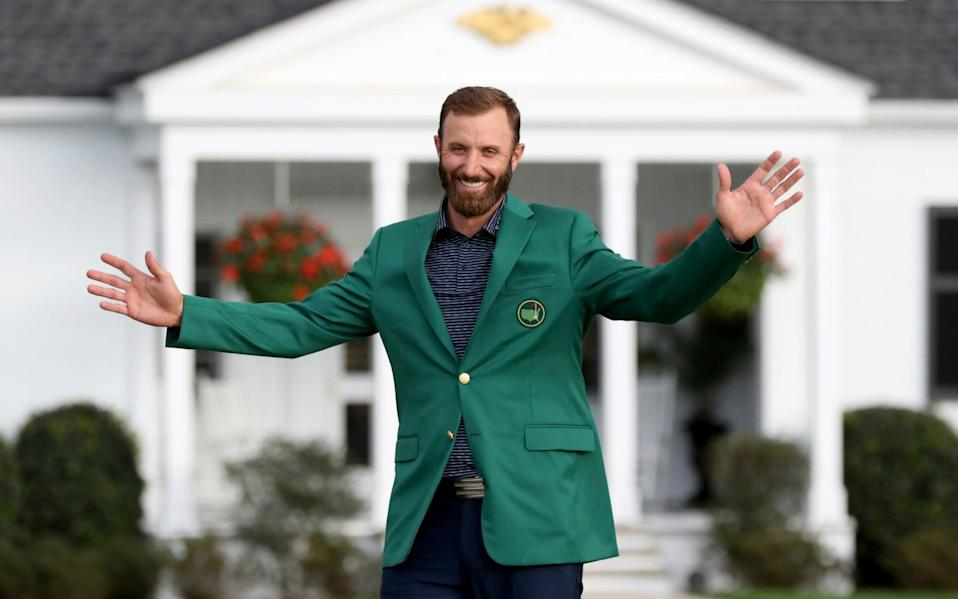 'Dustin Johnson's golf was amazing, but most impressive was his conduct and demeanor throughout the tournament' - Curtis Compton