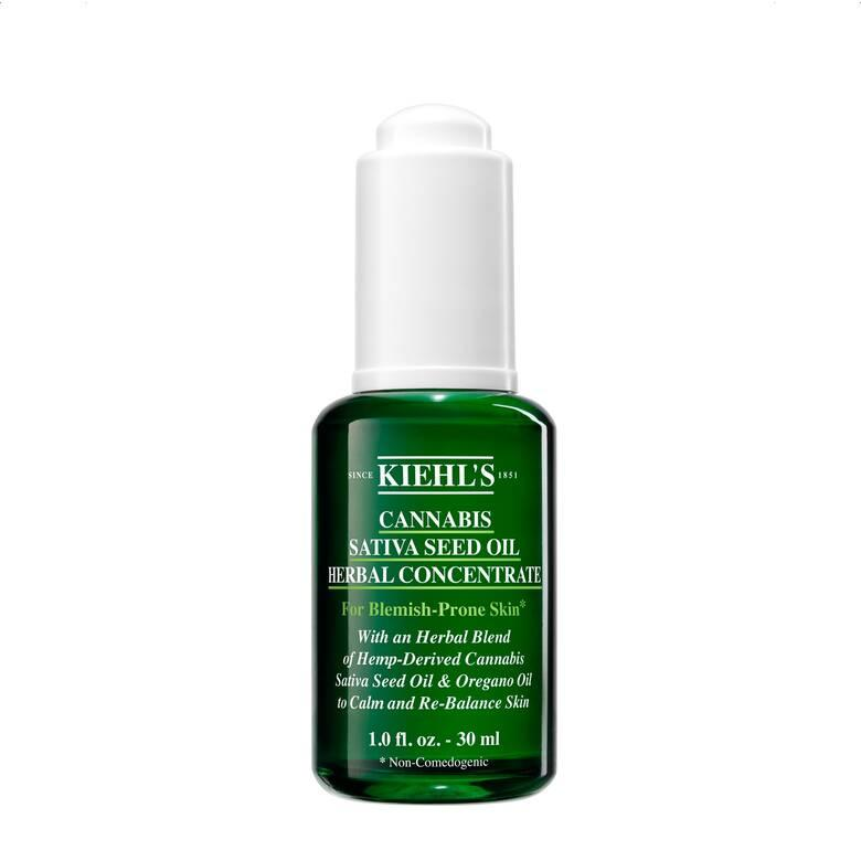 Cannabis Sativa Seed Oil Herbal Concentrate. Image via Kiehl's.