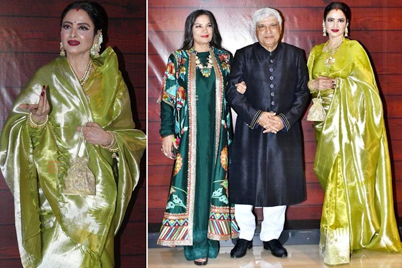 Rekha Saree Fashion Moments