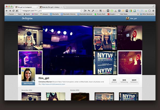 Hands-On With Instagram's New Profile Pages