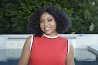 """<p><strong>Taraji P. Henson</strong> smiles as she shows off her easygoing chin-length bob with <a href=""""https://www.goodhousekeeping.com/beauty/hair/g3050/how-to-curl-your-hair-fast/"""" rel=""""nofollow noopener"""" target=""""_blank"""" data-ylk=""""slk:loose curls"""" class=""""link rapid-noclick-resp"""">loose curls</a>. Don't be afraid to separate the curls for <a href=""""https://www.goodhousekeeping.com/beauty-products/g793/hair-thickening-shampoo/"""" rel=""""nofollow noopener"""" target=""""_blank"""" data-ylk=""""slk:added volume"""" class=""""link rapid-noclick-resp"""">added volume</a>. </p>"""