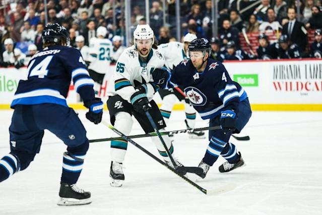 NHL: San Jose Sharks at Winnipeg Jets
