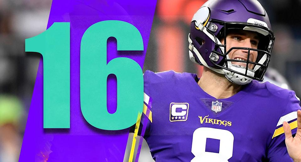 <p>The Vikings aren't making a move at coach or GM, and that makes sense despite a very disappointing season. It's hard to run it back and expect more favorable results, but what are their options? (Kirk Cousins) </p>