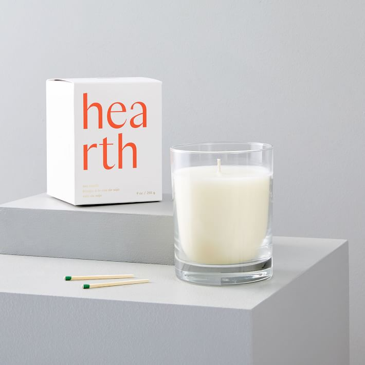 """<h3>West Elm Naturalist Collection Hearth Candle</h3><br>This sleek-looking candle carries notes of lemony pine, dried tobacco, warm incense, smoky cedar, dried timber, and crackling amber. <br><br><strong>West Elm</strong> Naturalist Collection Hearth Candle, $, available at <a href=""""https://go.skimresources.com/?id=30283X879131&url=https%3A%2F%2Fwww.westelm.com%2Fproducts%2Fnaturalist-homescent-collection-hearth-d6259%2F"""" rel=""""nofollow noopener"""" target=""""_blank"""" data-ylk=""""slk:West Elm"""" class=""""link rapid-noclick-resp"""">West Elm</a>"""