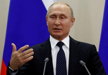 Putin says lifting sanctions on Moscow will benefit all