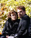 <p>On the set of the forgotten Bennifer movie, <em>Jersey Girl</em>, directed by Kevin Smith, in New York in 2002. The film came out two years later, after the pair had split. <br></p>