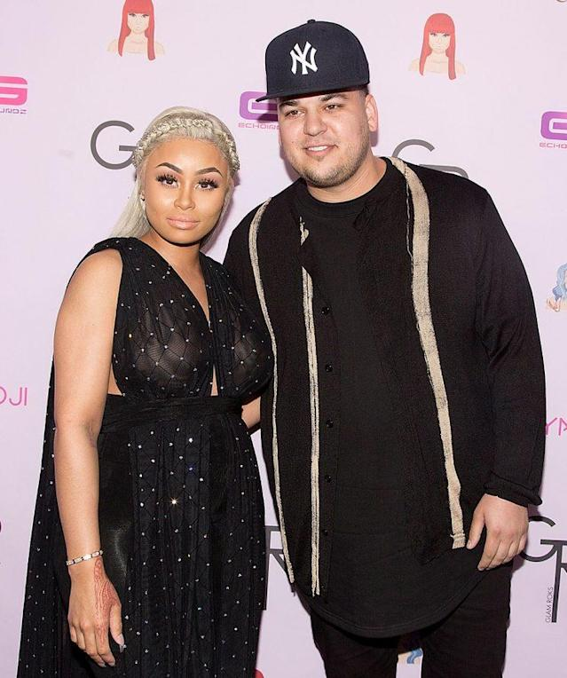 Blac Chyna and Rob Kardashian are at war on social media. (Photo: Gabriel Olsen/WireImage)