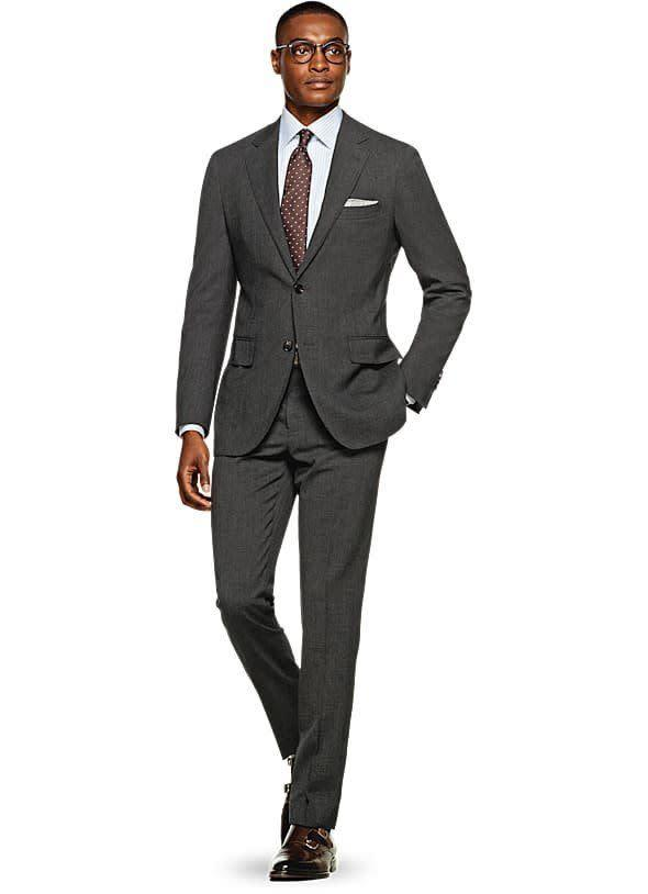 <span>Suit Supply</span> fittingly specializes in suits, and it offers free shipping on all orders. The label also offers alteration services in-store. Yes, that means extra cost, but it also means you'll end up with a suit that fits you perfectly. If you're looking to stay in the $500 range, Suit Supply has plenty of options.