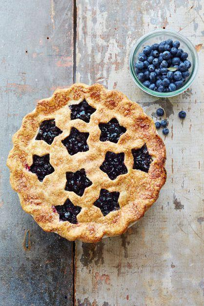 """<p>Dessert has never been so patriotic. This star-spangled blueberry pie is sweet, flaky, and perfect for summertime.</p><p><strong><em>Get the recipe from <a href=""""https://www.goodhousekeeping.com/food-recipes/dessert/g1328/fruit-pies/?slide=2"""" rel=""""nofollow noopener"""" target=""""_blank"""" data-ylk=""""slk:Good Housekeeping"""" class=""""link rapid-noclick-resp"""">Good Housekeeping</a>.</em></strong></p>"""