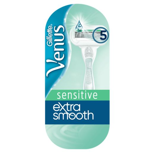"The handy products features less-irritating extra-thin blades and a nourishing ""skin elixir"" [Image Boots]"