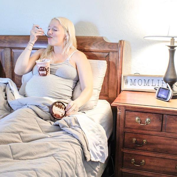 NGTF:Nightfood is now formally being recommended as the Official Ice Cream of the American Pregnancy Association.