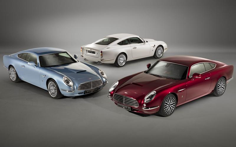 Underneath the DB5-inspired bodywork lies running gear from the Jaguar XK