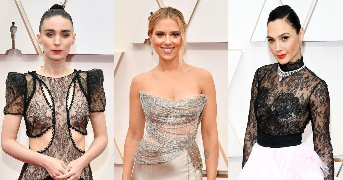 "<p>The <a href=""https://www.cosmopolitan.com/uk/fashion/celebrity/g30834972/oscars-2020-best-dressed/"" target=""_blank"">Oscars 2020 red carpet</a> is heating up thanks to Hollywood's celebrities going all-out in their Sunday best.</p><p>Now, it goes without saying that there are some stunning gowns at this awards show, but one of our favourite dress types is the naked dress. It's glam, sexy and utterly fierce, and tonight was a case in point. </p><p>From Scarlett Johansson's barely-there slip dress bodice, to Rooney Mara's fierce ASF lace situation, the night was nothing short of fire.</p><p>Scroll though to see our Fashion Editor's picks of the best naked dresses and all-round sexiest gowns from the Oscars red carpet and viewing party...</p>"