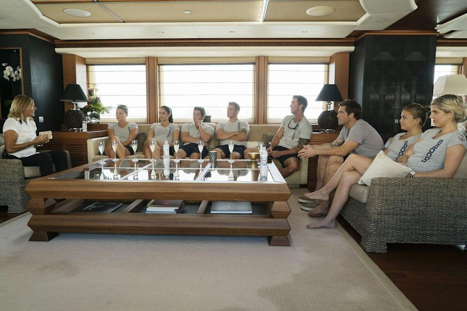 "<p>In <em>Below Deck Mediterranean</em> season 2, cast members Adam Glick and Malia White attempted to hide their prior relationship from producers. After finding out that information, producer Mark Cronin told <a href=""https://www.bravotv.com/below-deck/producers-filming-crew-members-secrets-who-pays-for-yacht"" rel=""nofollow noopener"" target=""_blank"" data-ylk=""slk:Bravo TV"" class=""link rapid-noclick-resp"">Bravo TV</a>, ""Well, we weren't happy about it. We were like, 'What? This is terrible. We didn't know this.' We didn't understand what their conversations meant."" The truth almost <em>always </em>comes out though.</p>"