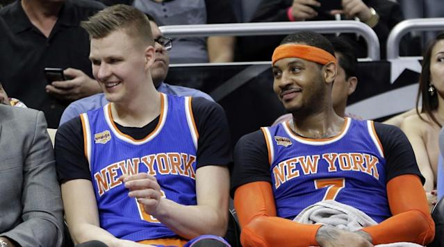 Porzingis Tops Carmelo in Top 100 NBA Players of 2018