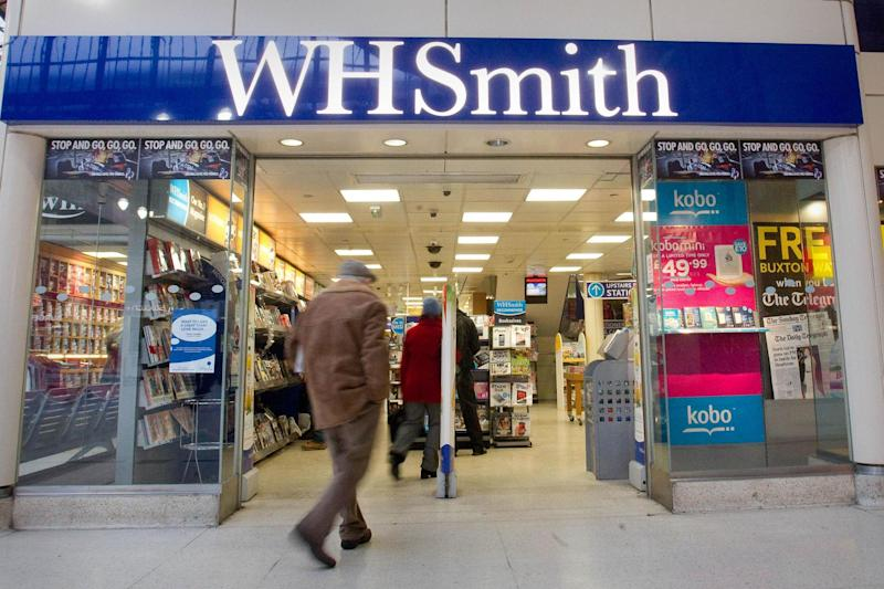 WHSmith has once again been voted the UK's worst high street shop: PA