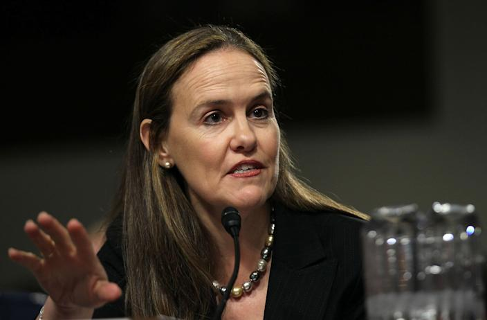 Former Under Secretary of Defense for Policy Michèle Flournoy. (Photo: Alex Wong/Getty Images)