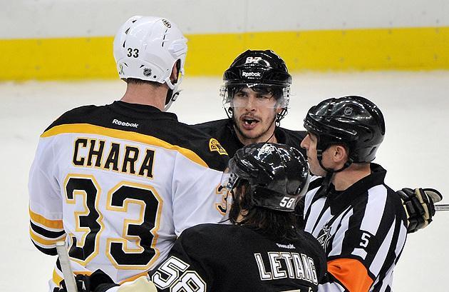 Sidney Crosby: Refs allowed Bruins to 'escalate' physical play in Game 1 loss