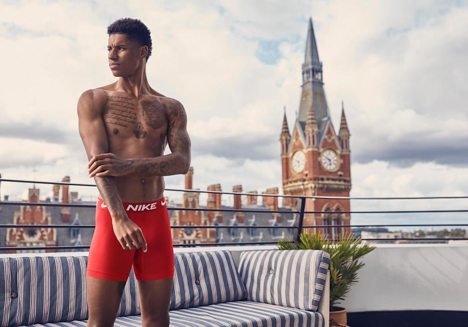 The new autumn/winter 2020 Nike underwear campaignImage courtesy of Nike