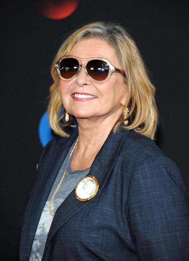Roseanne Barr promotes her show on May 15, 2018 in New York City. (Photo: Desiree Navarro/WireImage)