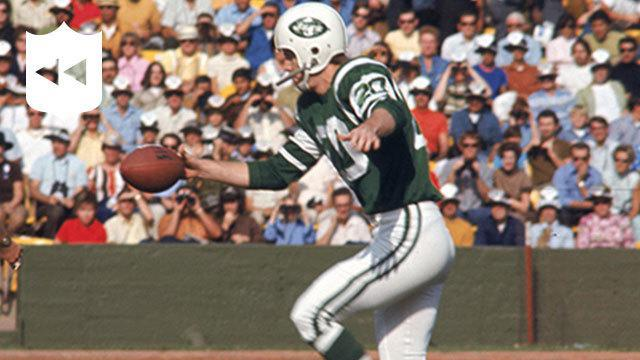 On September 21, 1969, Jets rookie punter Steve O'Neal booted the longest punt in NFL history--a 98-yard blast against the Broncos.