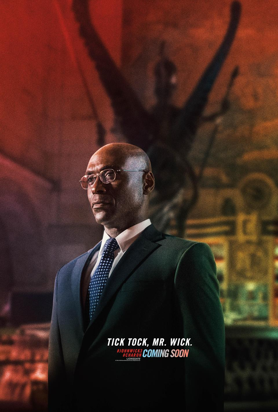 <p>It's not a John Wick movie without Lance Reddick's Continental Hotel concierge. He's traditionally been pally with Wick, but can their friendship survive the third instalment's manhunt plot? </p>
