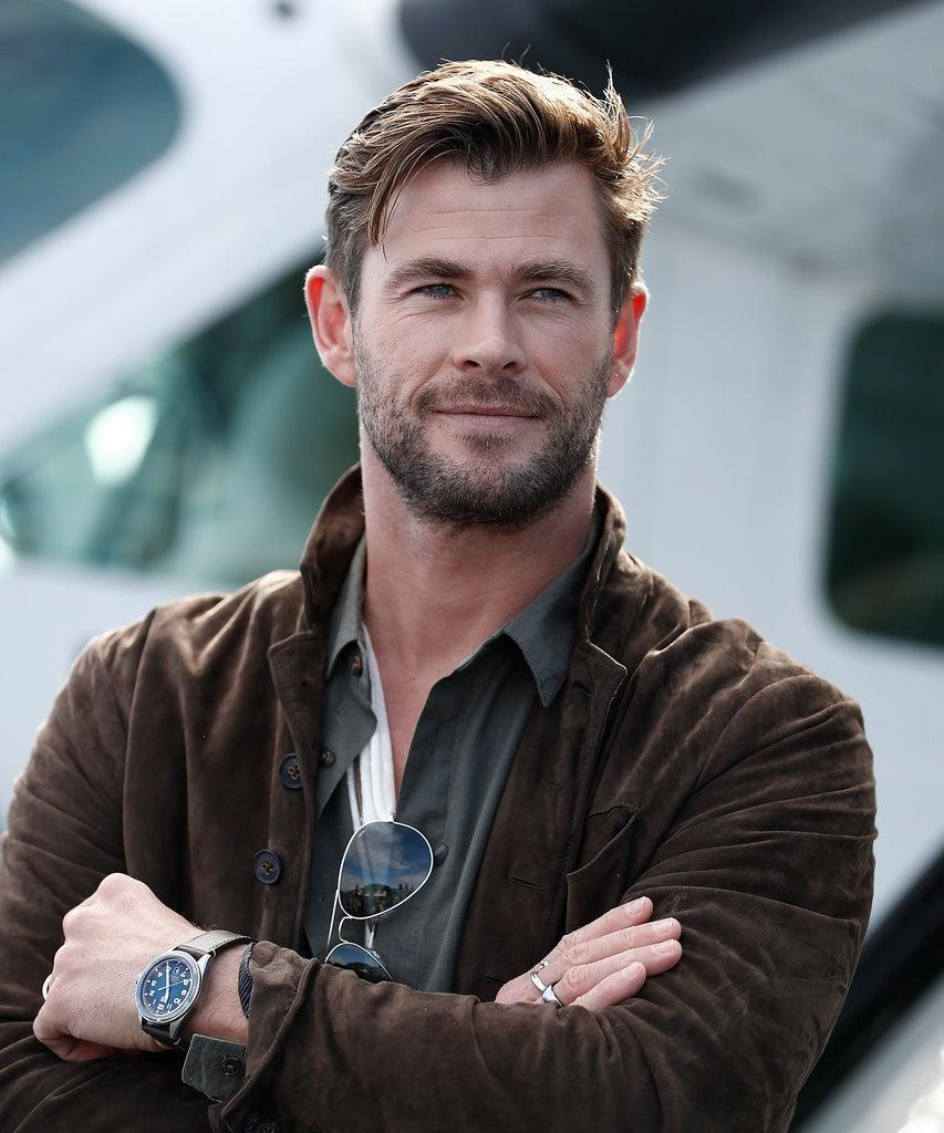 SYDNEY, AUSTRALIA – JUNE 26: Chris Hemsworth poses during the TAG Heuer Autavia Collection launch on June 26, 2019 in Sydney, Australia. (Photo by Ryan Pierse/Getty Images)