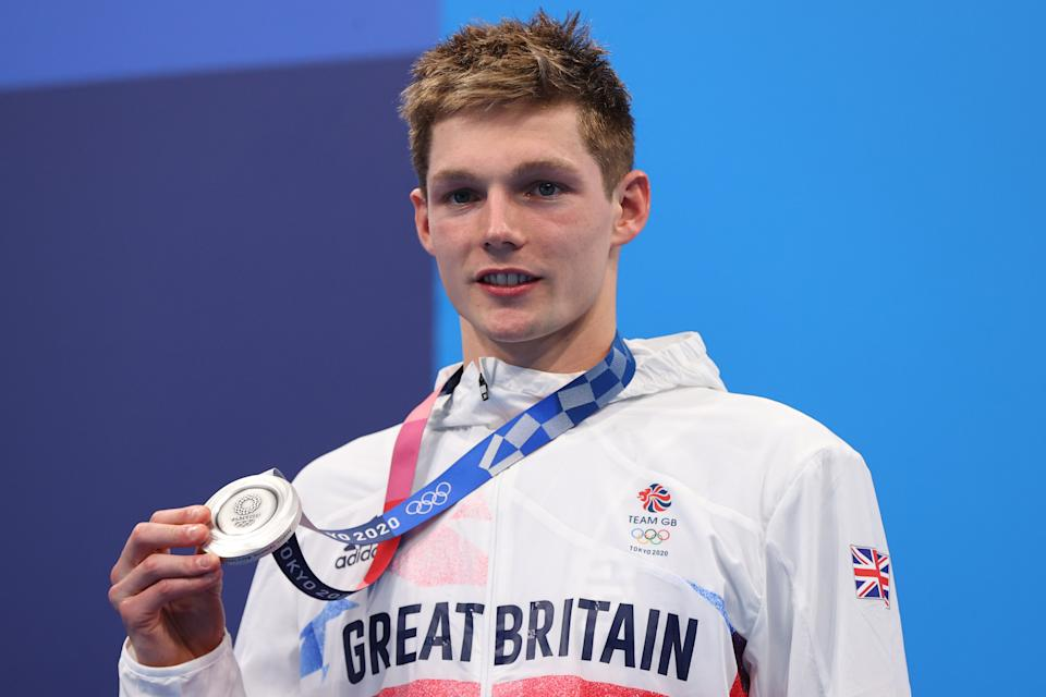 Duncan Scott tied a 93-year old British swimming record, but still rued the colour of his latest medal (Picture: Reuters)