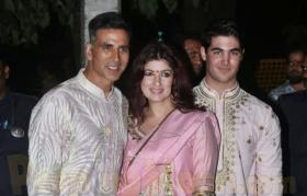 Twinkle Khanna's epic reply to son Aarav for saving her contact as 'police'