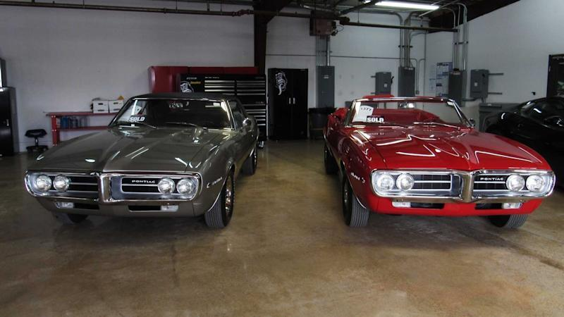 203b7eb2f The First Two Pontiac Firebirds In The Muscle Car Market