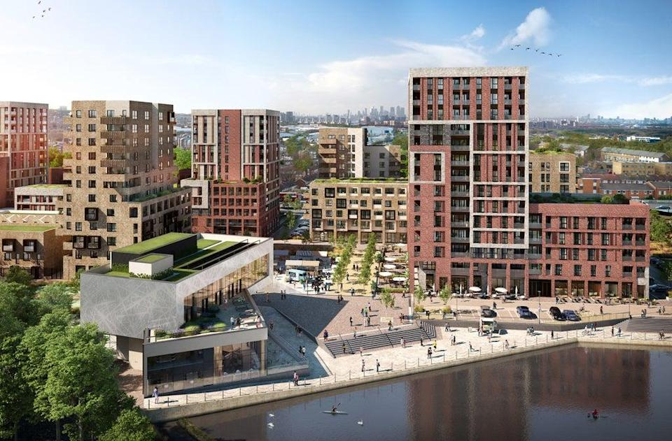 Peabody is reshaping Thamesmead, with new homes, shops and amenities in its Southmere project  (Handout)